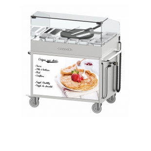 Crepe Maker Serving Station Casselin